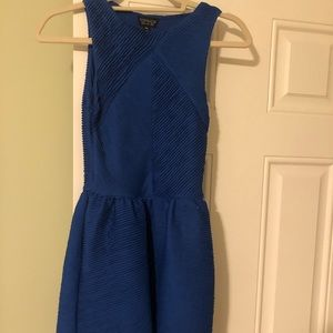 Topshop blue dress - size 2. Preowned worn 1x